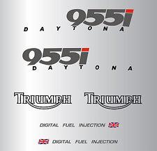 TRIUMPH DAYTONA 955 i (2000) STICKER DECAL MOTO AUFKLEBER