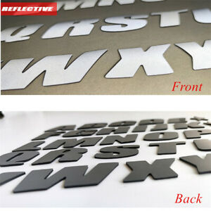 Car SUV Tire Reflective Letters Decor Stickers Kit for 15 -22in Wheels Permanent