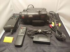 Canon Es900 Camcorder With Accessories - Battery & Charger - Remote Control
