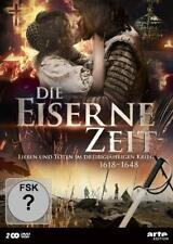 DIE EISERNE ZEIT-LEBEN UND STERBENIM DREIßIGJÄHRIGEN KRIEG 1618 2 DVD NEU