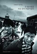 "KOREAN MOVIE""MEMORIES OF MURDER""ORIGINAL DVD/ENG SUBTITLE/REGION 3/KOREAN FILM"