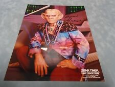 "ORIGINAL **STAR TREK DEEP SPACE NINE ""ARMIN SHIMERMAN"" SIGNED PHOTO** COA"