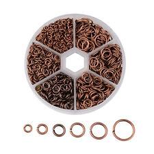1Box Mixed Size 4~10mm Iron Jump Rings Findings about 1745pcs/box Jewelry Making