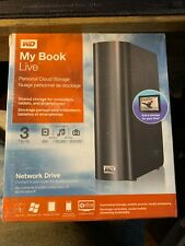 BRAND NEW SEALED!!! WD My Book Live 3TB Personal Cloud Storage External
