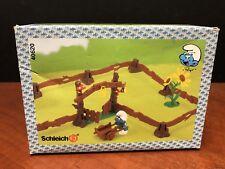 1997 Schleich The Smurfs Fence Garden 40620 EM1856
