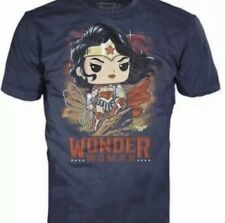 FUNKO POP! TEES DC COLLECTION BY JIM LEE WONDER WOMAN TEE SHIRT SIZE Large