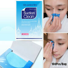 100Pcs/Bag Oil Control Film Tissue Clean Makeup Paper Oil Removal Facial Novelty
