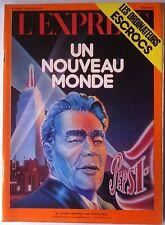 """L'express 18/6/1973; Brejnev aux USA """"Un nouveau monde""""/ Ordinateurs Escrocs"""