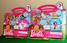 2 Barbie Pets Play sets!  They Link Together.  Over 20 pieces. Two Item Lot!