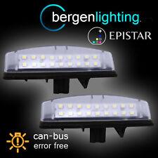 FOR LEXUS ES300 ES330 LS430 GS300 GS400 GS430 18 LED NUMBER PLATE LIGHT LAMPS