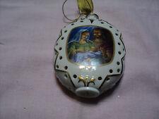 Danbury Mint Nativity Illuminated Ornament Mary & Joseph