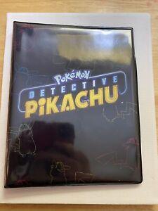 Pokemon Detective Pikachu Movie 4-pocket Card Binder New
