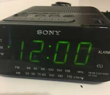 Sony Dream Machine Auto Time Set Alarm Clock ICF-C218 Preowned Tested