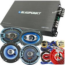 Blaupunkt AMP1404 1500 Watt Amp+ 2x Speakers 6x9