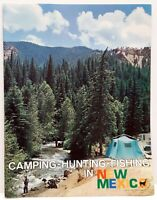 Vintage Camping Hunting Fishing In New Mexico Brochure Booklet Guide 1960's?