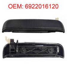 Black Door Handle Exterior Front Left Grip for Toyota Starlet Ep 91 96 - 99