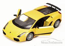 Lamborghini Gallardo Superleggera Yellow Showcasts 73346 1/24 scale Diecast Car