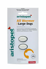 Aristopet All Wormer for Large Dogs 2pack-Dog Worming Tablets - Australian Made