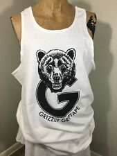 Diamond Supply Co Men's Grizzly Griptape White Tank Top Size XL