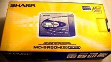 VINTAGE SHARP MD MINIDISC WALKMAN RECORDER model MD-SR50H