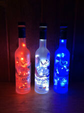 Grey Goose Bottle Lights Collectibles LED Lights Red White Blue 200ml