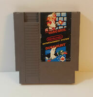 Super Mario Bros Duck Hunt Nintendo Entertainment System 1988 nes game free ship