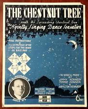 Le châtaignier, nouveauté Singing Dance Sensation Avec Instructions Complètes – 1938