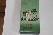 12 préservatifs, amor, SAUVAGE Love, prévention, planification familiale