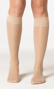 Sigvaris 120C Sheer Fashion 15-20 Closed Toe Knee High