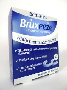 Bruxeeze Night Guard Teeth Grinding Relief Bruxism Mouth Guards x2 (RRP:£26)