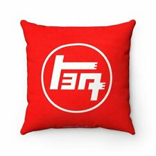 Teq Toyota Pillow Luxurious Faux Suede Square Pillow By Reefmonkey PILLOW INCLUD