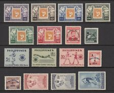 (RP54) PHILIPPINES - 1954 COMPLETE YEAR STAMP SETS. MUH