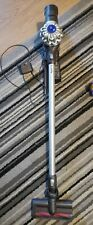 Dyson V6 Cordless Vacuum Cleaner. Fully working. Wall mount, charger and tools.