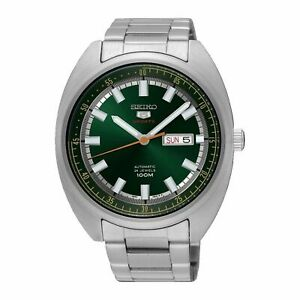 Seiko 5 Sports Automatic Watch 100M Green Dial New but Shop Display Japan Model