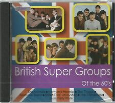 British Super Groups of the 60s by Various Artists (CD, Jun-2008)