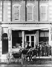 "Photo 1899 Concord, Michigan ""Grocery Store - Delivery Wagon"""