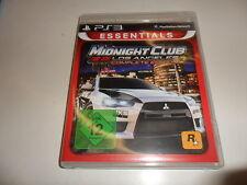 Playstation 3 Midnight Club-Los Angeles Complete Edition [Essentials]
