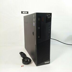 LENOVO THINKCENTRE M93P SFF PC COMPUTER i5 4570 8GB 500GB WIN 10 PRO W224