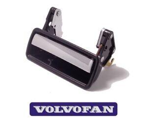 Door handle, chrome-black front left / rear left VOLVO 140 164 240 260 1202430