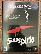 SUSPIRIA ~ 1977 Dario Argento Italian Horror Classic | 2-Disc Anchor Bay UK DVD