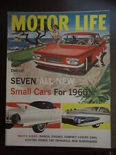 Motor Life Magazine August 1959 Cadillac Cyclone Small Cars For 1960 (VV) FF