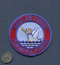 NAS Naval Air Station PENSACOLA FL US Navy Base Squadron Jacket Patch