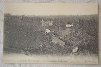 """CPA """" Vallée de la Cure - Vue sur le Château de Chastellux"""