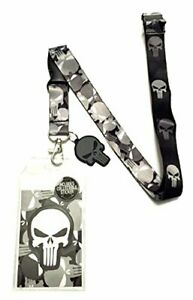 The Punisher Lanyard with Collectible Sticker