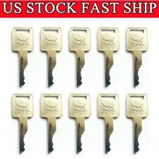 10 Ignition Key 6693241 For Bobcat Case Jlg Skid Steer Track Loader Excavator