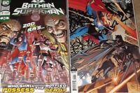 BATMAN SUPERMAN # 7 Main Cover + Kubert Card Stock Variant DC 2020 NM+