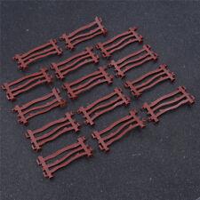 Sandbox Military Fence Toys 14Pcs/Set Rail Model Train Plastic Scale Accessories
