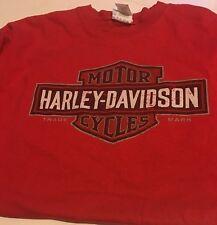 Vintage Harley-Davidson motorcycle T-Shirt Little Rock Ar XL