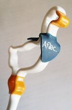 AFLAC MOULDED PLASTIC STICK DUCK WITH END CAP BLUE BANDANA LOT OF 17 NEW