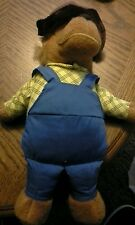 """Vintage Fisher Price pappaBerenstain Bears Plush Toy 778 1982 12"""" Stuffed Animal"""